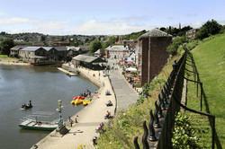 Overlooking Exeter Quay
