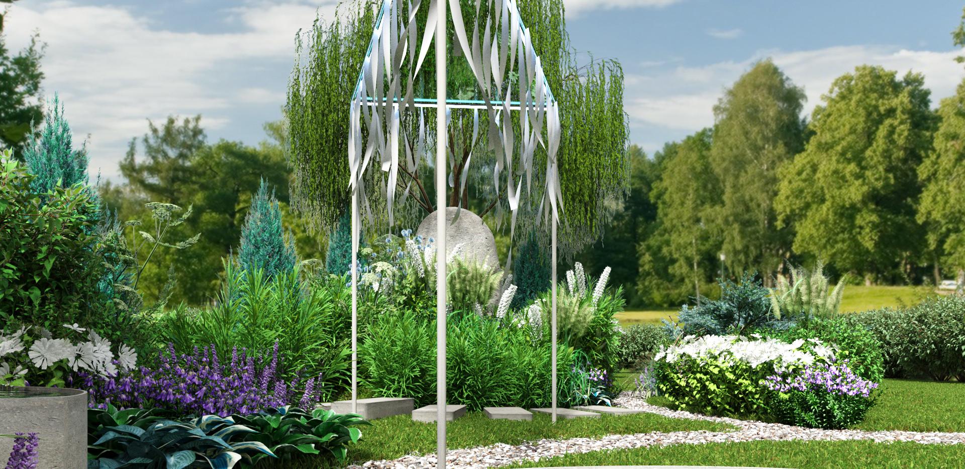 Злаковые создают легкость сада!