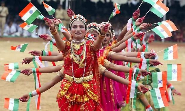 Celebrating-Independence-Day-Of-India-01