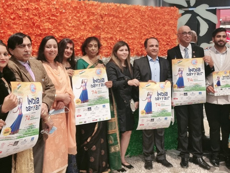India Day Fair 2021 Poster Launched with glitz and glamour