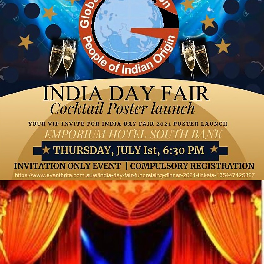 India Day Fair 2021 Poster Launch