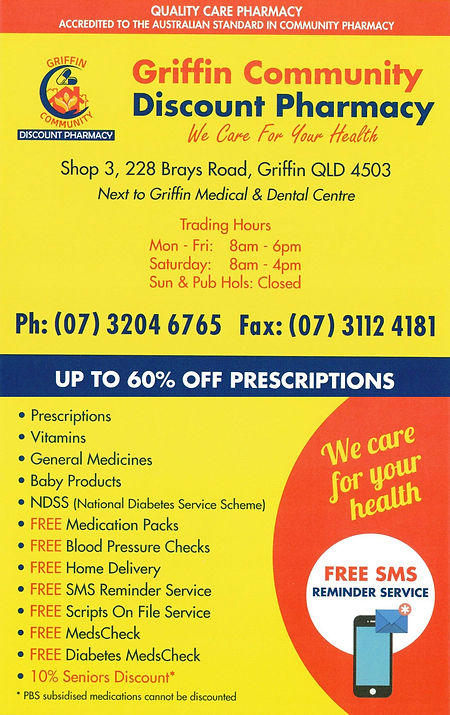 Griffin Community Discount Pharmacy Prom