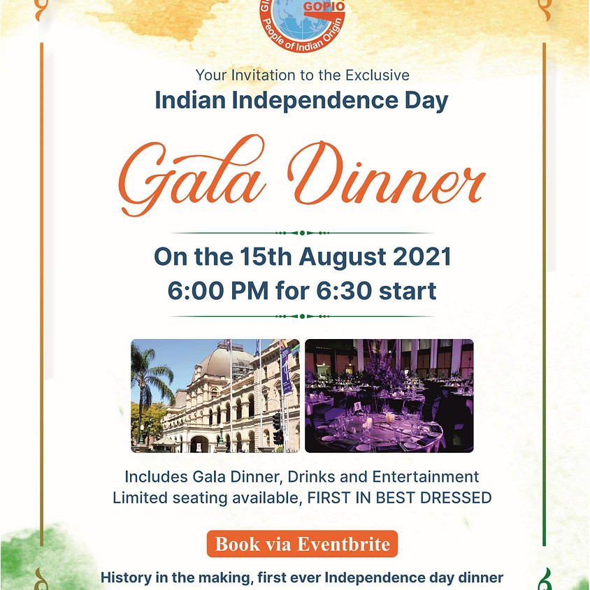 Indian Independence Day Dinner