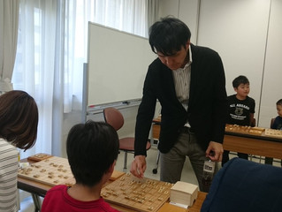 2018/5/20定例会(西尾明六段+カロリーナ女流1級)