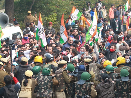 Hindistan'da Yeni Tarım Yasalarına Karşı Protesto