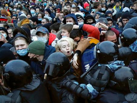 Rusya'da Navalni Protestoları