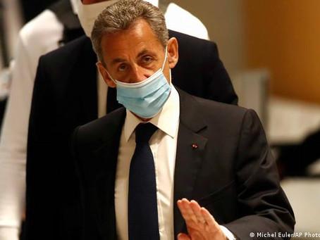 Fransa'da Eski Cumhurbaşkanı Hapis Cezasına Çarptırıldı!