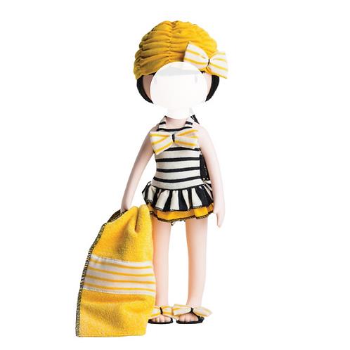 Strand-Outfit für Gorjuss Puppen