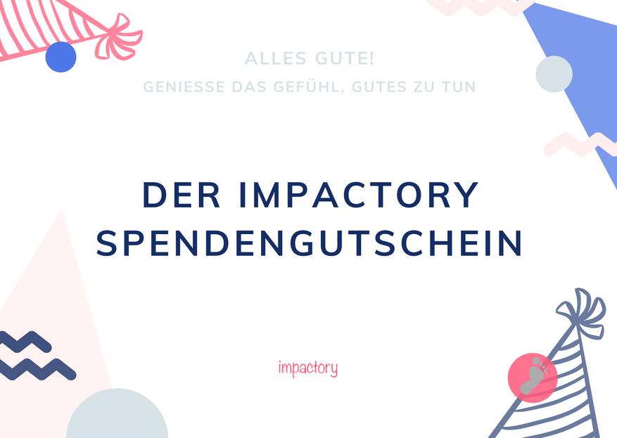 Impactory Spendengutschein