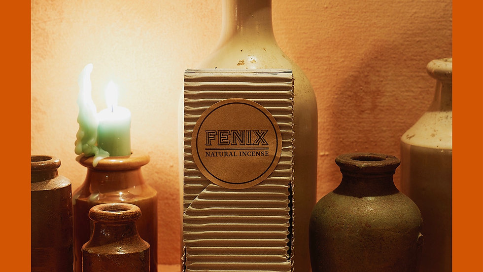 FENIX - White Sage Incense Blend (Thick sticks)