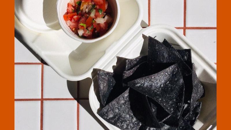 Tortilla Chips & Pico de Gallo