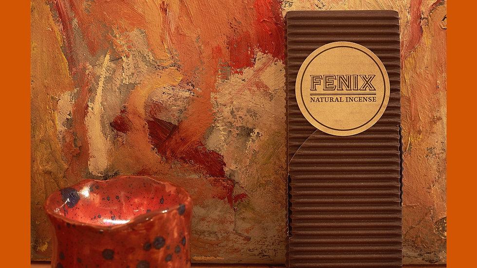 FENIX - Black Storax Incense Blend (Thin sticks)