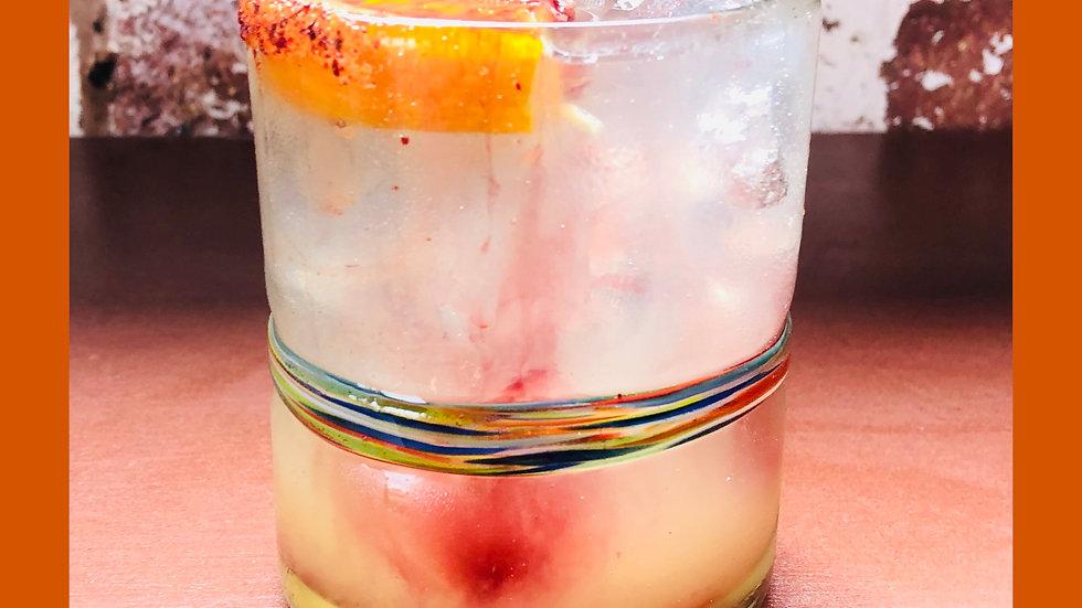 Mezcal Margarita 500ml Glass Bottle
