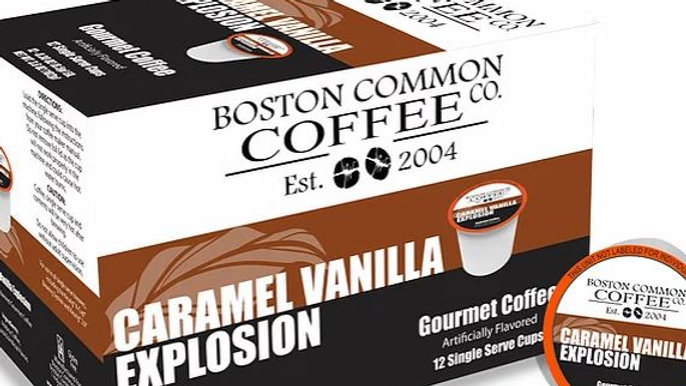 Caramel Vanilla Two Box K Cup 24 ct. Special