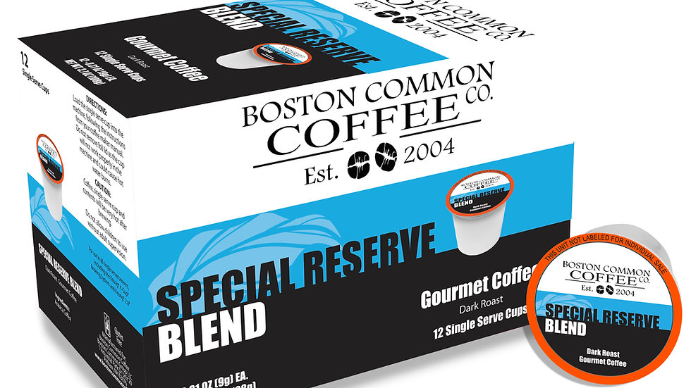 12 Count Special Reserve (Single Serve Cup Only) Dark Roast