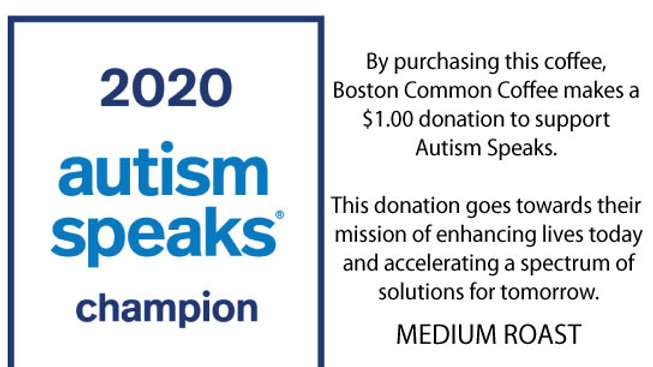 Autism Speaks Medium Roast