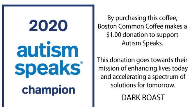 Autism Speaks Dark Roast
