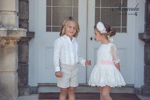 Vestido ceremonia de Miranda