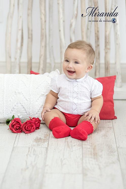 Ranita bebé con camisa