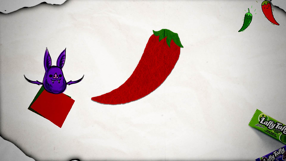 Laffy Taffy Chili Pepper Costume - Step 2