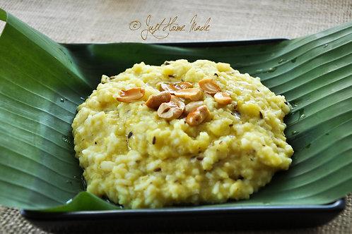 Sunday - Pongal + Chutney + Sambar