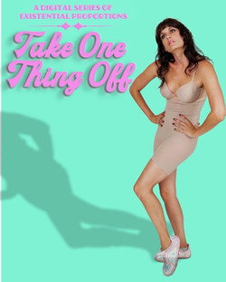 TAKE ONE THING OFF-poster