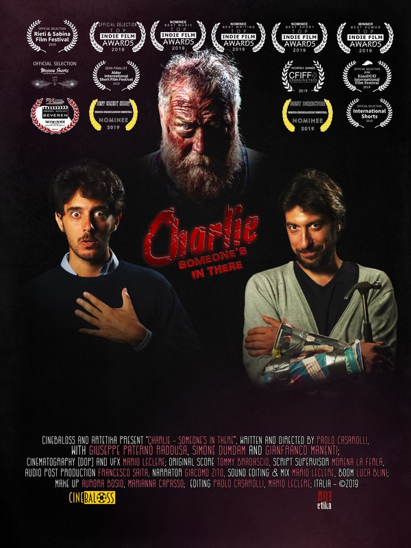 CHARLIE SOMEONE'S IN THERE - POSTER