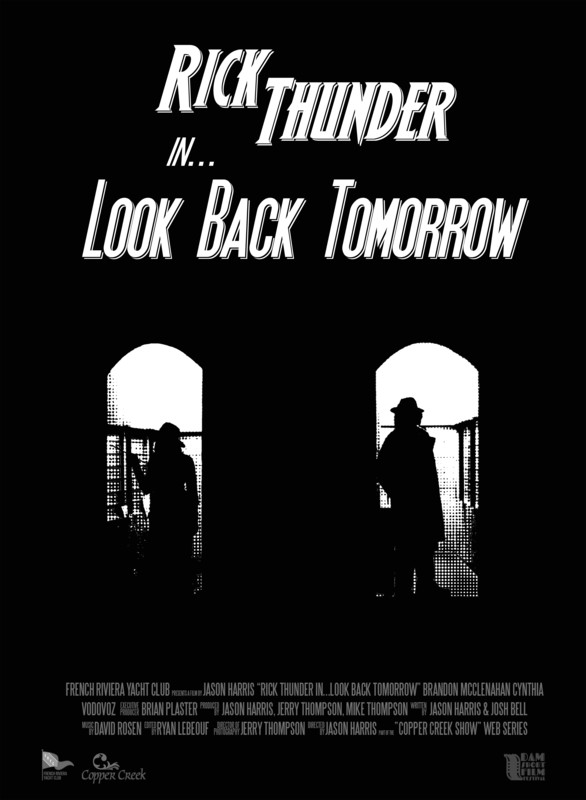 RICK THUNDER IN... LOOK BACK TOMORROW