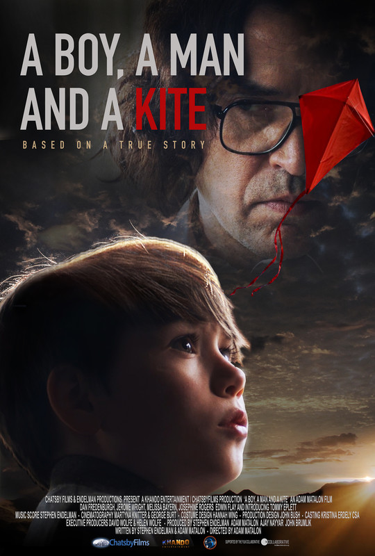 A BOY A MAN AND A KITE POSTER