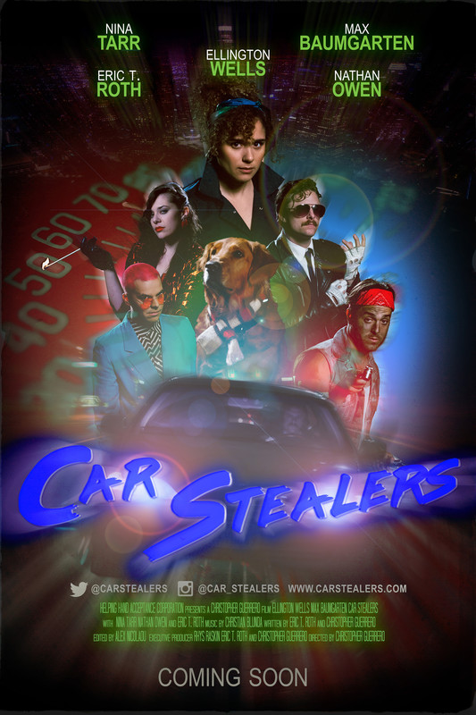CAR STEALERS - POSTER