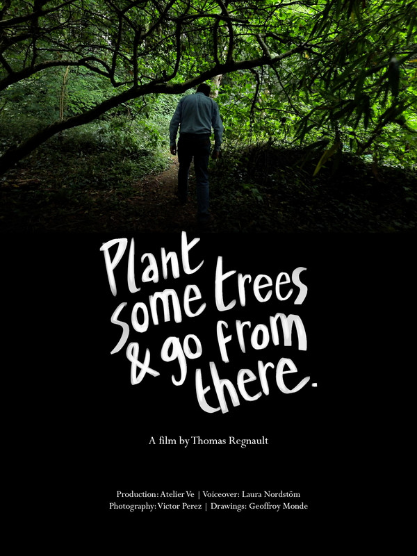 PLANT SOME TREES & GO FROM THERE POSTER.