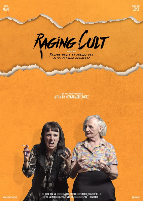 RAGING CULT - POSTER