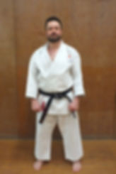 Simon West East Coast Shotokan Karate Instructor