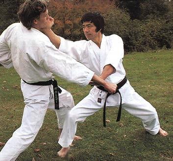 Hirokazu Kanazawa in training