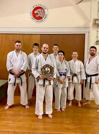 Sensei Jake Clayton East Coast Shotokan Karate Norwich
