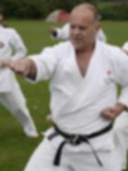 Sensei Ivor Garner East Coast Shotokan Karate Norwich
