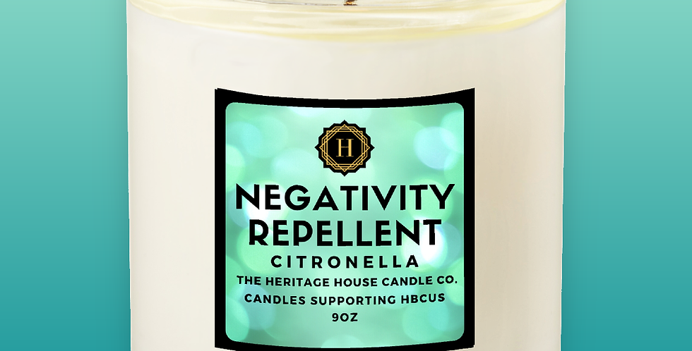 Negativity Repellent Affirmations Candle