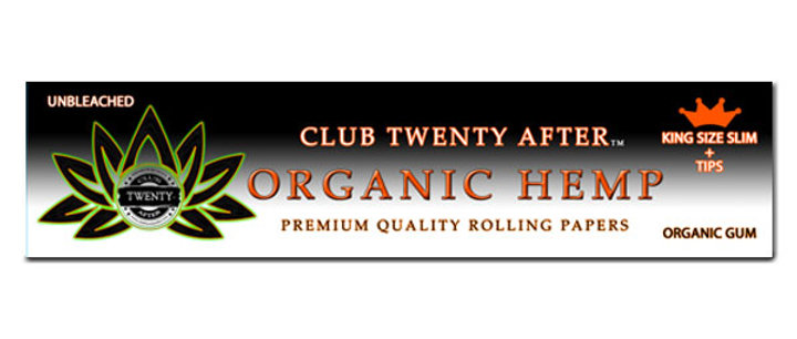 KING SIZE ORGANIC ROLLING PAPERS + TIPS