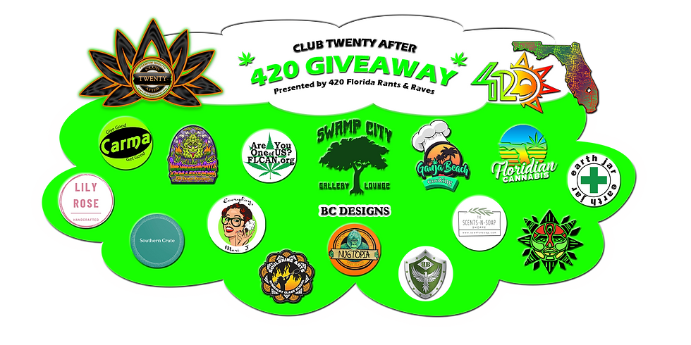 🚨🚨Club Twenty After 420 Giveaway!!🥳💚