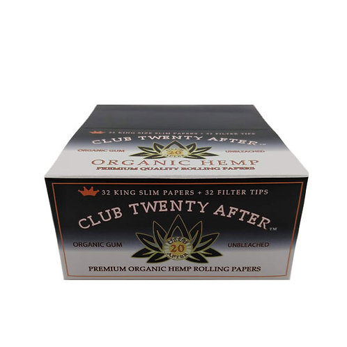 Club Twenty After Best Rolling Papers + Tips