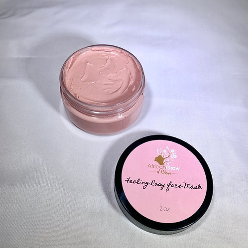 Feeling Rosy Face Mask