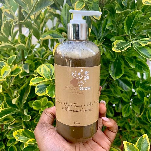 African Black Soap + Aloe Vera Cleanser