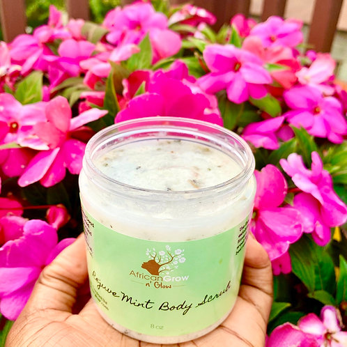 Rejuve Mint Foaming Body Scrub