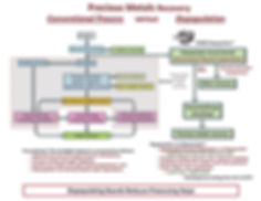 E-Waste Processing Compatison Flow chart