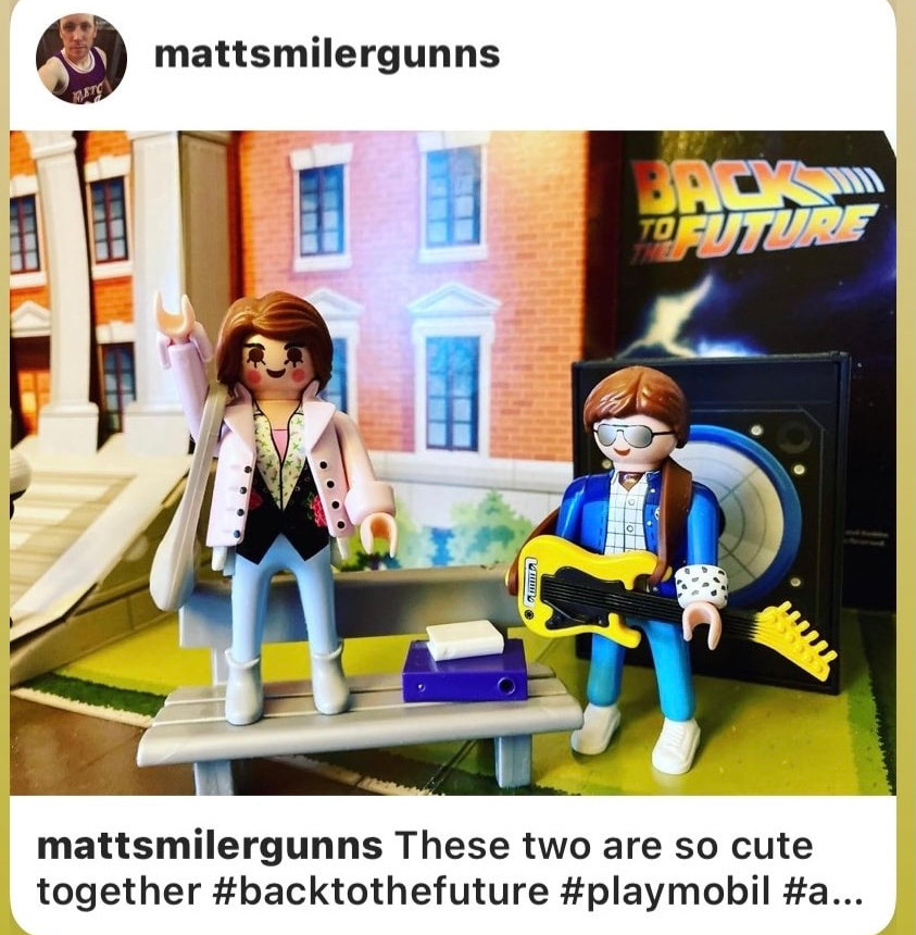 Thanks wonderful fans for your great Playmobil Jennifer Parker posts!