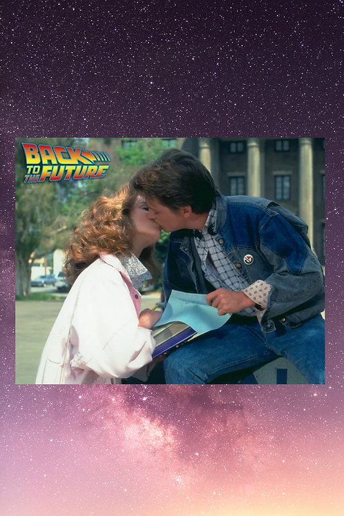 Photo #5: Jennifer and Marty sneak a kiss
