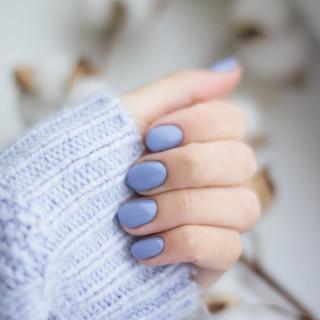 Petite Nail Spa_Periwinkle nails