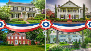 9 Cool Colonial Homes to Mark Independence Day