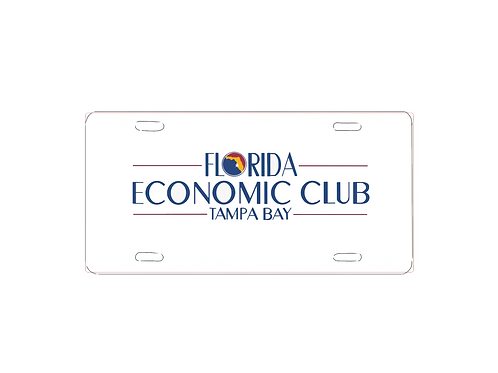 Florida Economic Club Car Tag