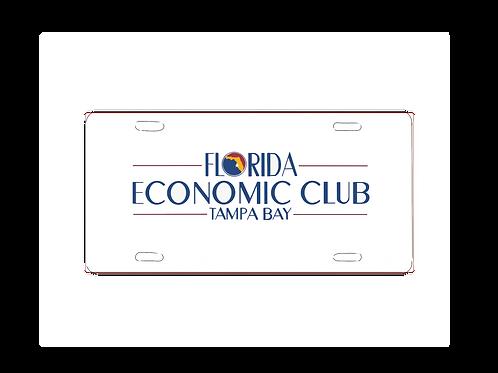 Florida Economic Club Car Tag